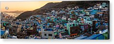 Late Afternoon In Gamcheon Acrylic Print