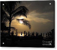 Late Afternoon In Mobay Acrylic Print by Addie Hocynec