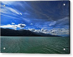 Late Afternoon On Harrison Lake Bc Acrylic Print