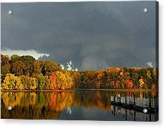 Late Autumn Storm Acrylic Print