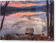 Late Fall Early Winter Acrylic Print by Bill Wakeley