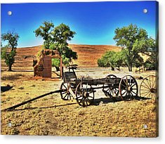 Late For Market Acrylic Print