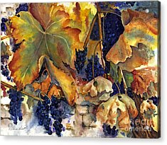 The Magic Of Autumn Acrylic Print by Maria Hunt