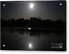 Late Night At The Lake Acrylic Print