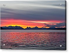 Late November Sunset Acrylic Print