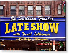 Late Show New York Acrylic Print