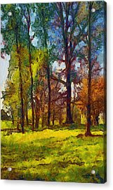 Late Spring Trees Acrylic Print