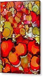 Late Summer Flowers Acrylic Print