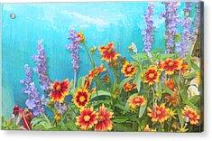 Late Summer Palette Acrylic Print by Douglas MooreZart