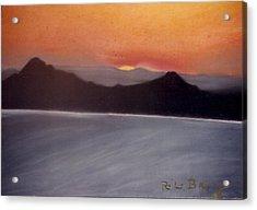Late Sunset Acrylic Print