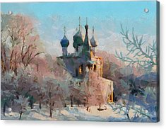 Late Winter Church Acrylic Print