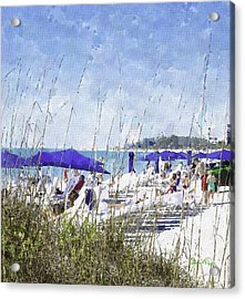 Late Winter Early Spring When Everybody Goes To Florida Acrylic Print by Susan Molnar
