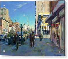 Late Winter Morning On Broadway Acrylic Print