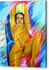 Latin Dreams Revisited Acrylic Print by The GYPSY And DEBBIE