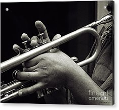 Latin Trumpet Acrylic Print