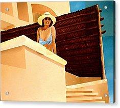 Latin Wind Acrylic Print by Laurend Doumba