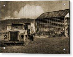 Latsha Lumber Company Acrylic Print by Shelley Neff