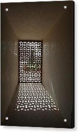 Lattice Of Light Acrylic Print