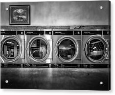 Laundromat Art Acrylic Print by Bob Orsillo