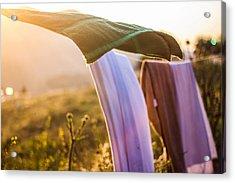 Laundry Acrylic Print by Aiden Kashi