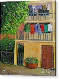 Laundry Day Acrylic Print