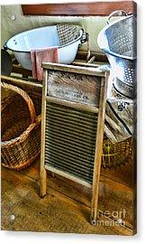 Laundry Day Acrylic Print by Paul Ward