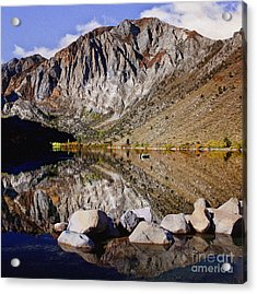 Laural Mountain Convict Lake California Acrylic Print