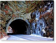 Laurel Creek Road Tunnel Acrylic Print