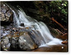 Laurel Falls Great Smoky Mountains Acrylic Print
