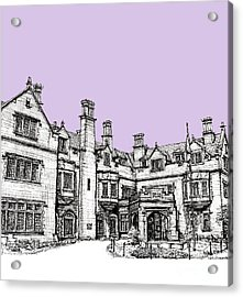Laurel Hall In Lilac Acrylic Print by Adendorff Design