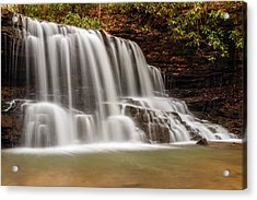 Laurel Run Falls Tn Acrylic Print