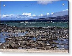 Lava Beach Acrylic Print by Karl Voss
