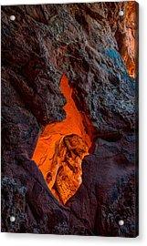 Lava Glow Acrylic Print