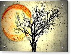 Lava Sky Acrylic Print by Mark Ross