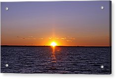 Lavallette Sunset I Acrylic Print by Dave Dos Santos