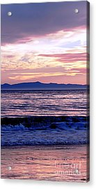 Acrylic Print featuring the photograph Lavender Sea by Sue Halstenberg