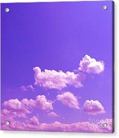 Lavender Skies Acrylic Print by M West