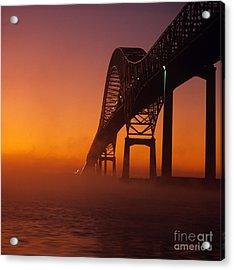 Laviolette Bridge Acrylic Print by Publiphoto
