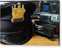 Law Enforcement - The Detective  Acrylic Print