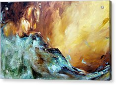 Law Of Attraction Left Side Acrylic Print by Dina Dargo