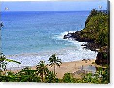 Lawai Bay - Kauai Hawaii Acrylic Print