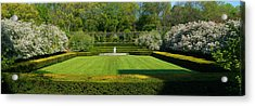 Acrylic Print featuring the photograph Lawn In Central Park by Yue Wang
