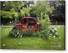 Lawn Ornament Acrylic Print