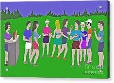 Lawn Party  Acrylic Print