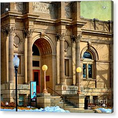 Lawrence City Library Acrylic Print