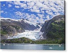Lawrence Glacier Acrylic Print by Saya Studios