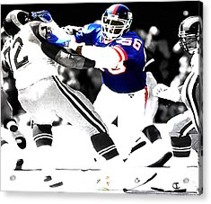 Lawrence Taylor Out Of My Way Acrylic Print