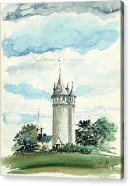 Lawson Tower Scituate Ma Acrylic Print
