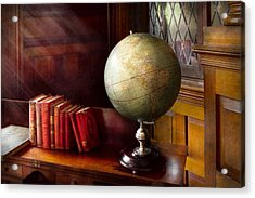 Lawyer - A World Traveler Acrylic Print by Mike Savad