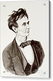 Lawyer Abe Lincoln  Acrylic Print